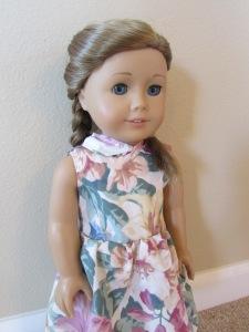 angle floral dress