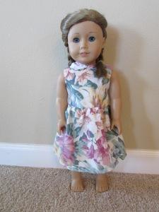 front floral dress