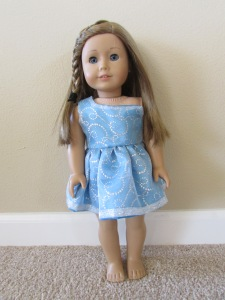 front glitter dress