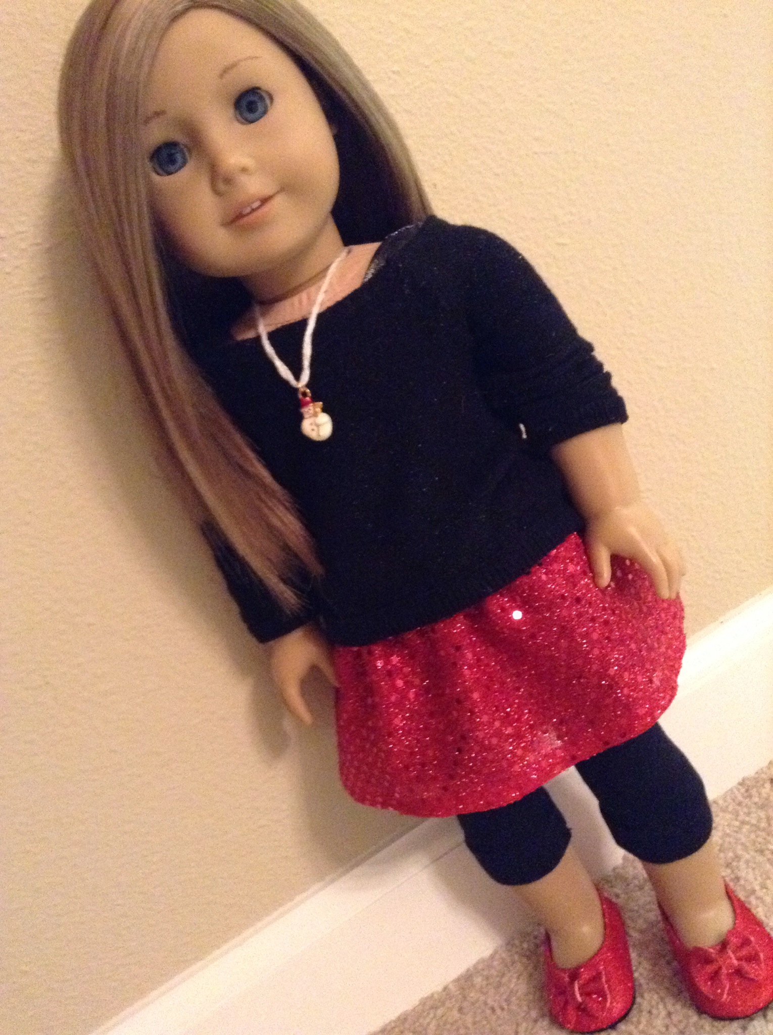 American Girl Doll Christmas Outfit  The By Kids for Kids Blog